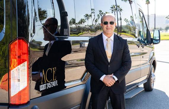 Ace Luxury Transportation driver