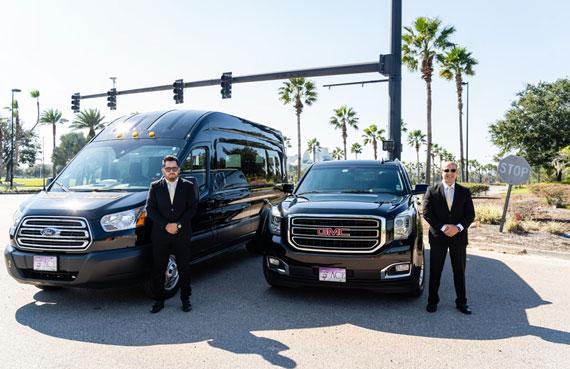 Ace Luxury Transportation drivers