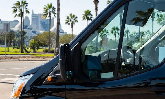Ace Luxury Transportation vehicle