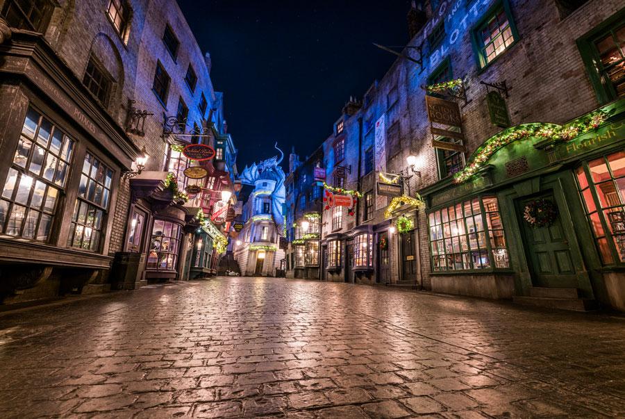 Christmas in Diagon Alley - Universal Studios Florida