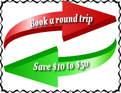 Book Round Trip and Save